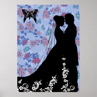Cenicienta y príncipe el encantar póster