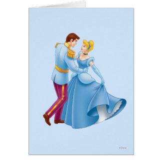 Cenicienta y príncipe el encantar felicitaciones