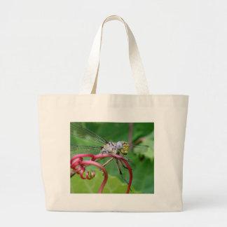 Ceñido - libélula bolsas lienzo
