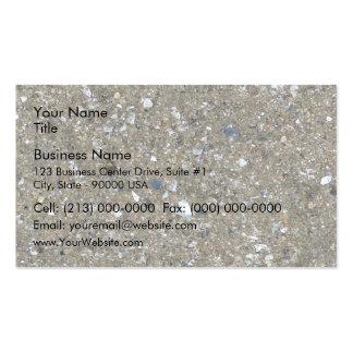 Cenizas de carbón quemadas que tejan textura tarjetas de visita
