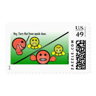 Ceño fruncido sello
