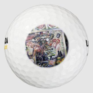 Cenosillicaphia Pack De Pelotas De Golf