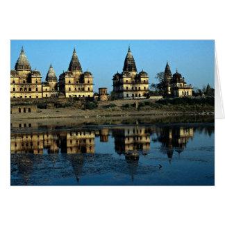 Cenotafios, Madhya Pradesh, la India Tarjeta De Felicitación