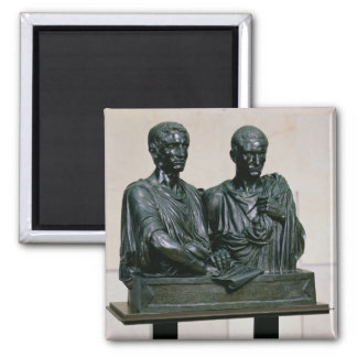 Cenotaph of the Gracchi, 1853 Fridge Magnets