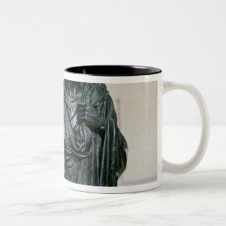 Cenotaph of the Gracchi, 1853 Two-Tone Coffee Mug