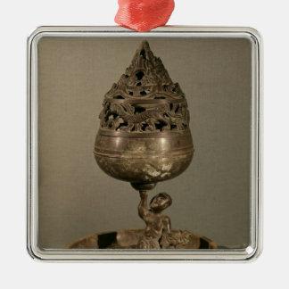 Censer in the shape of 'po-shan-lu' christmas ornaments