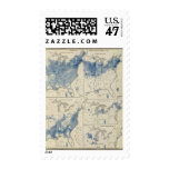Censo de población de Estados Unidos Timbre Postal