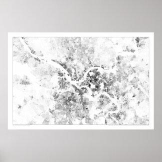 Censo Dotmap de Pittsburgh Impresiones