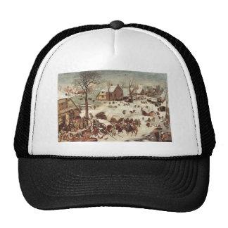 Censo en Belén de Pieter Bruegel Gorro