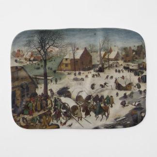 Censo en Belén de Pieter Bruegel Paños Para Bebé