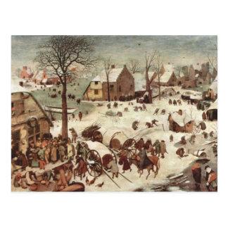 Censo en Belén de Pieter Bruegel Tarjetas Postales
