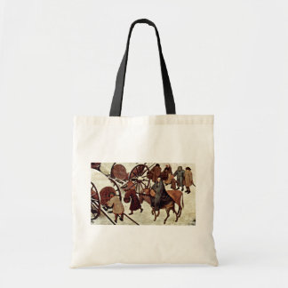 Censo en Belén, detalle por Bruegel D. Ä. Piete Bolsa Tela Barata