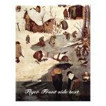 Censo en Belén, detalle por Bruegel D. Ä. Piete Flyer Personalizado