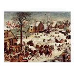 Censo en Belén por Bruegel D. Ä. Pieter Tarjetas Postales