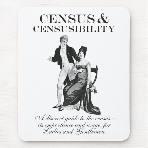 Censo y Censusibility Mousepads