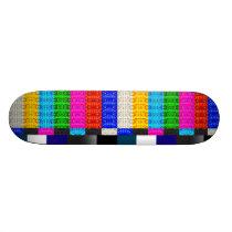 Censor Pattern Skateboard