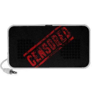 Censored doodle speaker