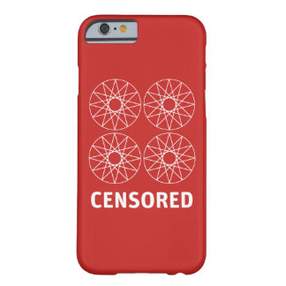 Censored Glossy Phone Case