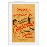 Censored Hollywood Shocked 1936 WPA
