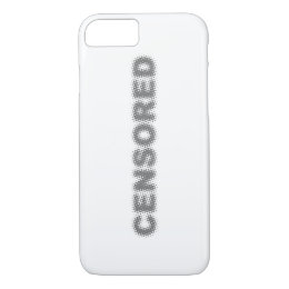 CENSORED iPhone 8/7 CASE