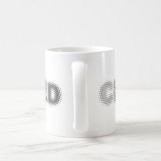 CENSORED (light to dark grey) Coffee Mug