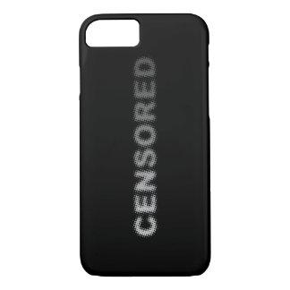 CENSORED (light to dark grey) iPhone 8/7 Case