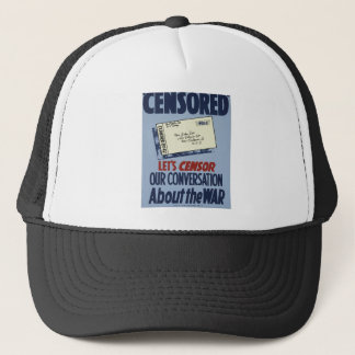 Censored Trucker Hat
