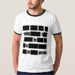Censorsed Government Message Tee Shirts