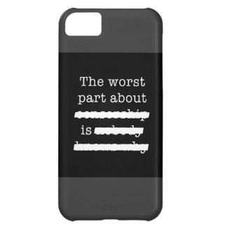 Censorship iPhone 5C Case