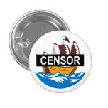 Censorship Ship Boat Buttons