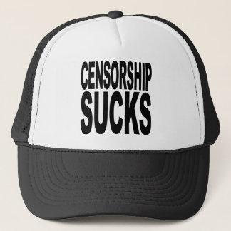 Censorship Sucks Trucker Hat