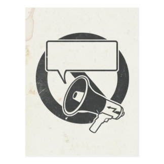 Censura b/w tarjetas postales