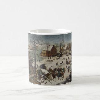 Census at Bethlehem by Pieter Bruegel Coffee Mug