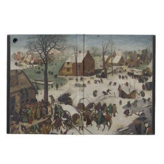 Census at Bethlehem by Pieter Bruegel iPad Air Cases