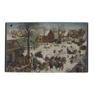 Census at Bethlehem by Pieter Bruegel iPad Cover