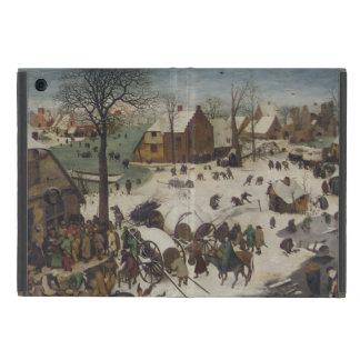 Census at Bethlehem by Pieter Bruegel iPad Mini Covers