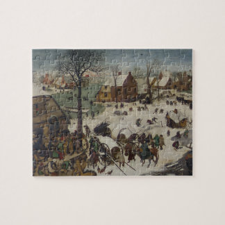 Census at Bethlehem by Pieter Bruegel Jigsaw Puzzle