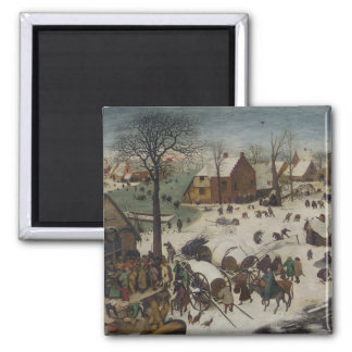 Census at Bethlehem by Pieter Bruegel Magnet
