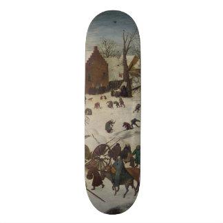 Census at Bethlehem by Pieter Bruegel Skateboard