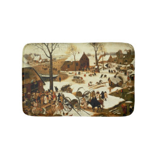 Census at Bethlehem, c.1566 Bathroom Mat