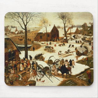 Census at Bethlehem, c.1566 Mouse Pad
