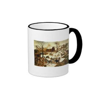 Census at Bethlehem, c.1566 Mug