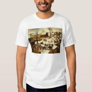 Census at Bethlehem, c.1566 T-Shirt