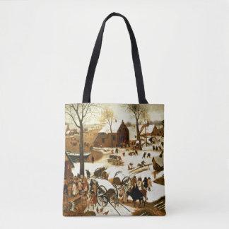 Census at Bethlehem, c.1566 Tote Bag