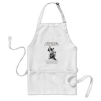 Census & Censusibility Adult Apron