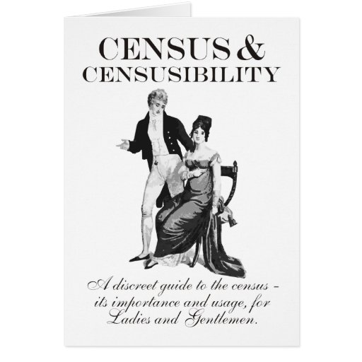 Census & Censusibility Birthday Card