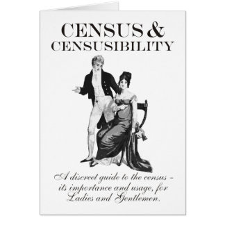 Census & Censusibility Greeting Cards