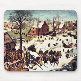 Census in Bethlehem Mouse Pad