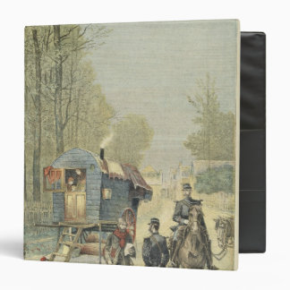 Census of Travellers in France 3 Ring Binder