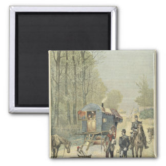 Census of Travellers in France Magnet